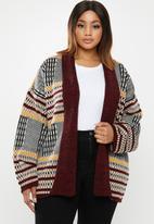 edit Plus - Knitwear coat - multi