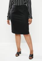edit Plus - Pencil skirt (plus) - black