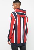 Tommy Hilfiger - Tjm vertical stripe hoodie - multi