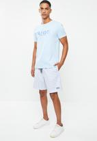 Tommy Hilfiger - Tjm seersucker short - white & blue