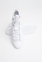 Converse - Ultra leather mesh mid - white / pure platinum / polar blue