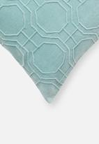 Sixth Floor - Pepper cushion cover - blue