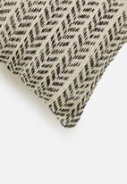 Sixth Floor - Mura cushion cover - black & cream