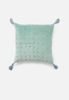 Sixth Floor - Winnich cushion cover - blue