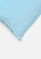 Sixth Floor - Cheeky cushion cover - blue