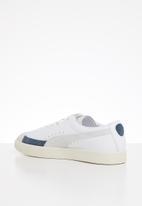 PUMA - Basket - puma white-whisper white-dark denim
