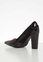 Superbalist - Lori court block heel - black