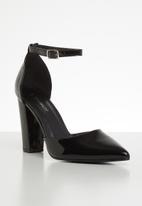Superbalist - Rumi block court heel - black