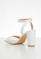 Superbalist - Stef barely-there heel - white