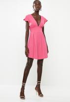 dailyfriday - Open back dress - pink