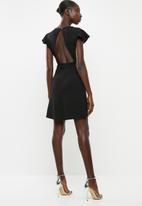 dailyfriday - Open back dress - black