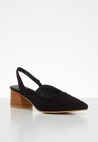 Superbalist - Jules court block heel - black
