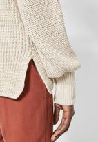 Superbalist - Balloon sleeve pull over - neutral