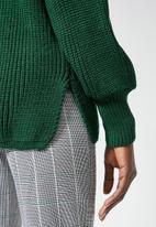 Superbalist - Balloon sleeve pull over - green