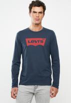 Levi's® - Graphic set-in crew neck tee - navy