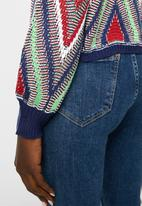 ONLY - Hortensia long sleeve  pullover knit - multi