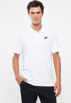 Nike - Nsw ce pique matchup polo - white