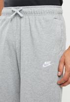 Nike - Nsw jersey club shorts - grey