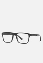 Emporio Armani - Sunglasses with interchangeable lenses - grey & black