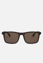 Emporio Armani - Matte havana sunglasses 54mm - brown