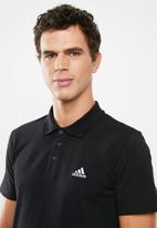 adidas Performance - Adidas short sleeve polo - black