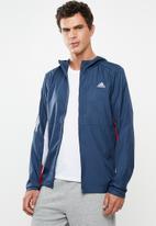 adidas Performance - Own the run jacket - blue