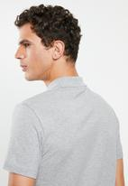 adidas Performance - Adidas short sleeve polo - grey