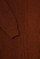 Superbalist - Midi coatigan - rust