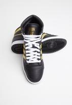 adidas Originals - Top Ten Hi  - core black /gold met / ftwr white