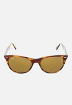 Ray-Ban - Wayfarer ii 55mm sunglasses - brown
