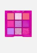 W7 Cosmetics - Vivid Eyeshadow Palette - Punchy Pink