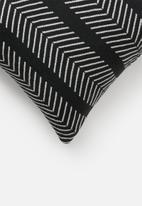 Sixth Floor - Belle cushion cover - black & white