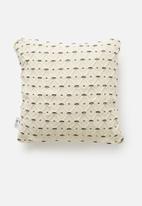 Sixth Floor - Julio cushion cover - white