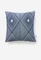 Sixth Floor - Eclipse cushion cover - blue
