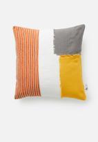 Sixth Floor - Patchwork cushion cover - multi