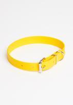 Benji & Moon - Active dog collar - yellow