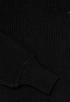 Superbalist - Balloon sleeve pull over - black