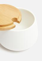 Humble & Mash - Sugar bowl with bamboo lid