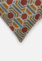 Hertex Fabrics - Laudervale cushion cover - spice