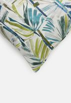 Hertex Fabrics - Palm springs cushion cover - oceana