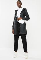 Vero Moda - Friday 3/4 coated jacket - black