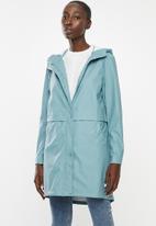 Vero Moda - Friday 3/4 coated jacket - blue