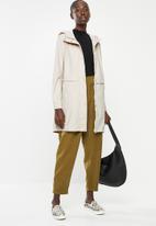 Vero Moda - Friday 3/4 coated jacket - oatmeal