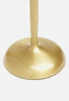SF Collection - Candle holder set of 2 - gold