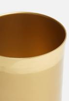 Sixth Floor - Katya planter - gold