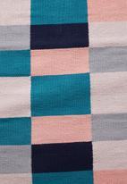 Sixth Floor - Colour block woven runner - multi