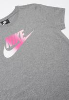 Nike - Girls nsw T-shirt dress futura - grey