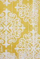 Sixth Floor - Jacquard rug - yellow