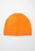 Superbalist - Angel cable knit beanie - orange