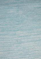 Sixth Floor - Ombre woven rug - duck egg blue
